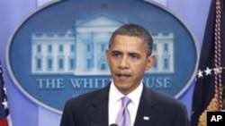 아시아 순방을 앞둔 오바마 미국 대통령 (자료사진)