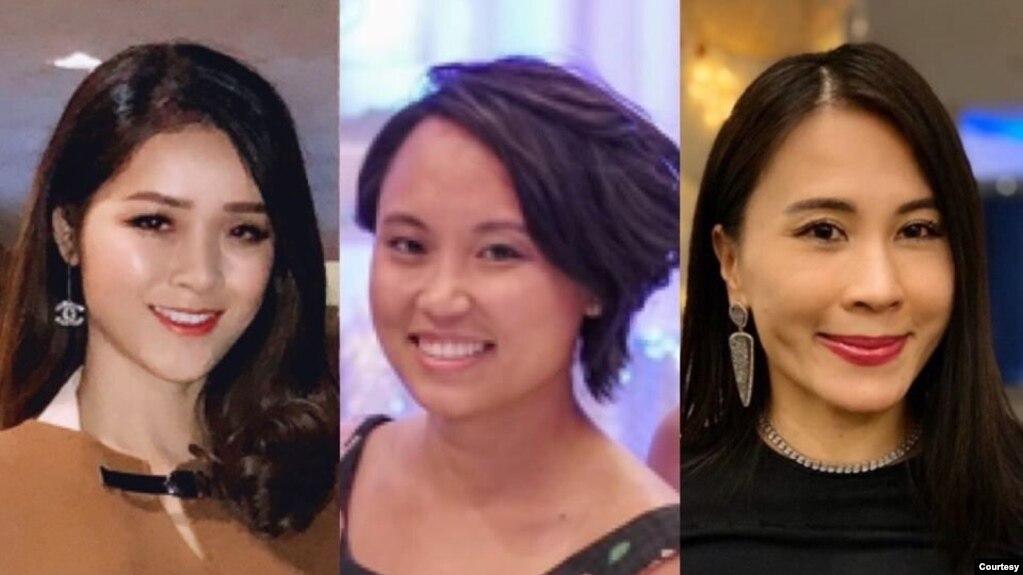 Các đồng sáng lập tổ chức phi chính phủ Vietnam Rise: Trinity Phạm, Trinh Nguyễn, Angelina Huỳnh. Photo Vietnam Rise