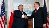وزیر خارجه بحرین در دیدار با وزیر خارجه آمریکا، هفته گذشته در واشنگتن