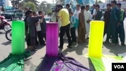 اعتراض مدنی جوانان هرات