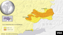 乌克兰亲俄罗斯分离分子扩展控制区域