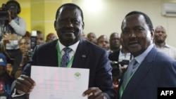Raila Odinga na Kalonzo Musyoka