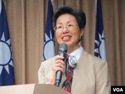 台湾陆委会主委张小月(美国之音张永泰拍摄)