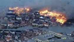 زلزله ۸ و ۹ دهم ريشتری و سونامی ژاپن را به لرزه درآورد