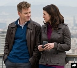 "Ewan McGregor and Gina Carano in ""Haywire"""
