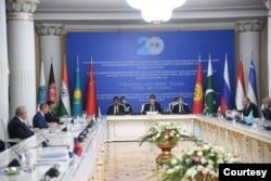 Shanxay Hamkorlik Tashkiloti yig'ini, Dushanbe, 14-iyul, 2021a