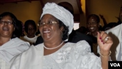 Malawi President Joyce Banda is visiting the U.S. next week. (FILE January 20, 2012)