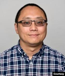 """""""洛杉矶香港论坛""""召集人林查理教授。(照片由本人提供)"""