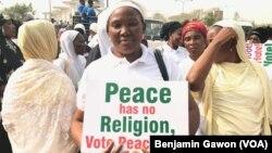 Gangamin kungiyoyin mata a Abuja
