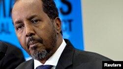 Shugaban Somalia Hassan Sheikh Mohamud