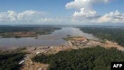 """2010年初开工的,计划当中的一座""""圣安东尼奥水力发电厂"""""""