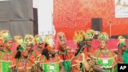 Martinique dancers and musicians perform at 5th annual Goree Island Diaspora Festival