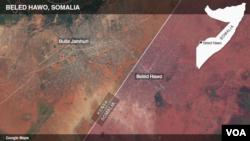 索馬里激進組織青年黨星期一凌晨向索馬里與肯尼亞邊界附近的一座索馬里城鎮發動攻擊。