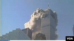Amazu ya World Trade Center i New York yafashe inkongi