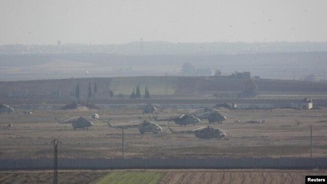 시리아 북부 이들리브주 타프타나즈의 정부군 기지. (자료사진)