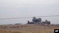 عکسی از ادلیب در غرب سوریه