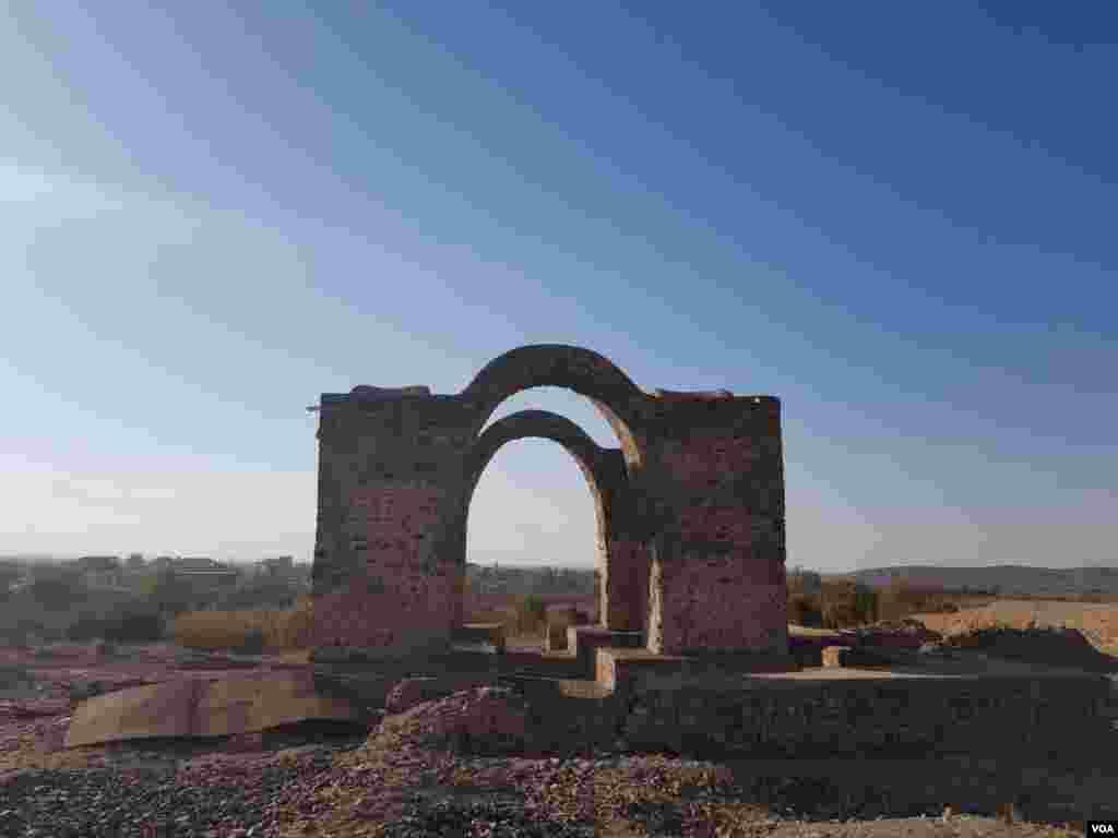 آتشکده دوره ساسانی، خرمدشت در حاشیه شهر کاشان عکس: کوروش (ارسالی شما)