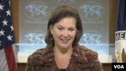 Juru bicara Departemen Luar Negeri Amerika, Victoria Nuland (Foto: dok).