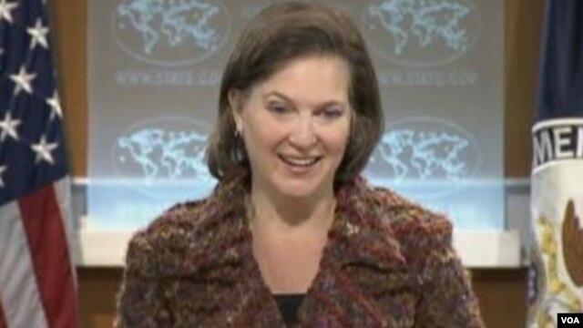 Victoria Nulland, porta-voz do Departamento de Estado