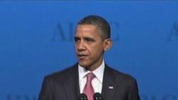 奥巴马促外交途径避免伊朗拥有核武器