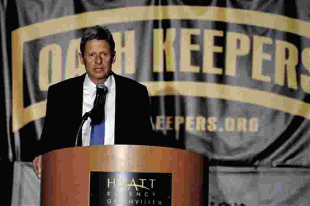 Gary Johnson fue gobernador del estado de Nuevo México entre 1995 y 2003.