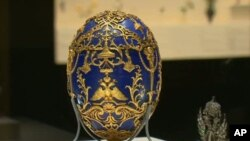 More than 500 pieces by jeweler Karl Fabergé, including his most famous works, the Imperial Easter Eggs, are on display at the Virginia Museum of Fine Arts.