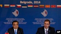Premijer Srbije Aleksandar Vučić i kineski premijer Li Kećiang