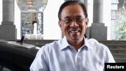 Pemimpin oposisi Malaysia yang kini dipenjara, Anwar Ibrahim (foto: dok).