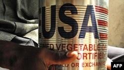 艾滋病毒感染者得到免费食品