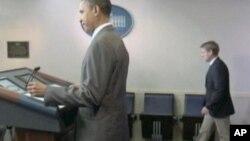 奧巴馬總統星期二簽署了一項妥協法案﹐債限問題暫時得以解決