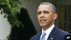 奥巴马总统在5月16日
