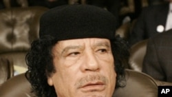 Moammar Gadhafi (2008 file photo)