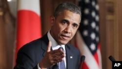 A Tokyo, Barack Obama a menacé la Russie de nouvelles sanctions