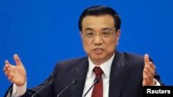中国总理李克强(2013年3月17日资料照片)