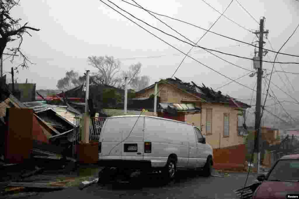 'مریا' اس سے قبل کیریبئن جزائر میں خاصی تباہی مچا چکا ہے جہاں طوفان کے باعث اب تک 10 افراد کے ہلاک ہونے کی تصدیق ہوئی ہے۔