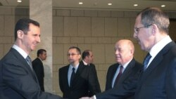 تداوم بمباران حمص، همزمان با ورود وزیر امور خارجه روسیه به سوریه