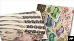 將人民幣和日元作一個合併圖像 中日兩國外匯市場啟動人民幣對日元直接交易機制