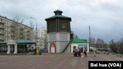 Pusat kota Yekaterinburg di Rusia tengah (foto: ilustrasi).