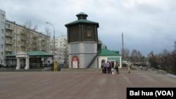 叶卡捷琳堡市中心。(美国之音白桦拍摄)