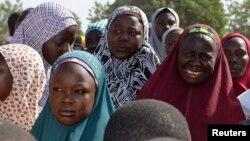 Wasu iyayen 'yan matan da Boko Haram ta sace