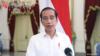 Presiden Jokowi perintahkan Kemenkes untuk turunkan harga PCR di kisaran Rp450 ribu-Rp550 ribu dalam tangkapan layar. (Foto: VOA/Ghita Intan)