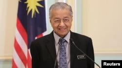 မေလးရွား ဝန္ႀကီးခ်ဳပ္ေဟာင္း Mahathir Mohamad။