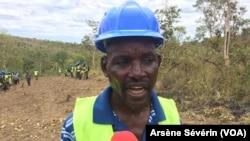 Philippe Mabouaka chef du village Missié-Missié, dans le Pool, Congo-Brazzaville, 23 octobre 2018. (VOA/Arsène Sévérin)