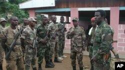 Shugaban kasar Ivory Coast Laurent Gbagbo yana kuma samun goyon bayan mayaka (File Photo)