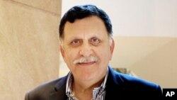 Fayez Serraj, chef du gouvernement libyen d'union, 17 février 2016
