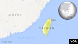 Ramani ya Taiwan