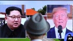 Shugaba Trump Da Kim