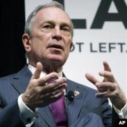 Ο Δήμαρχος της Νέας Υόρκης, Michael Bloomberg