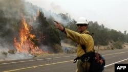 Крупнейший природный пожар в истории Аризоны