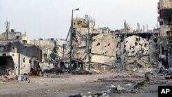 Humus'u neredeyse enkaza çeviren görüntüler, zaman zaman Şam hükümetine müdahale çağrısının artmasına yol açıyor.